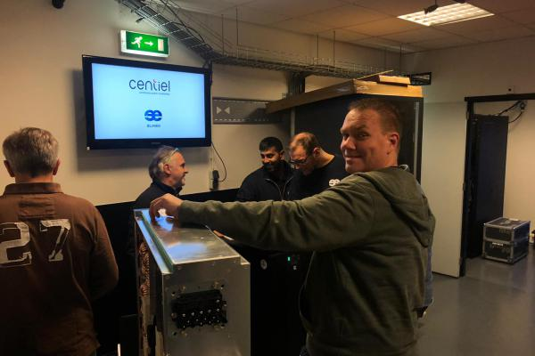 Centiel demo training UPS systeem